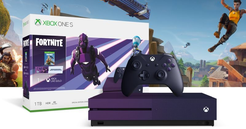 Console Xbox One S in bundle con Fortnite